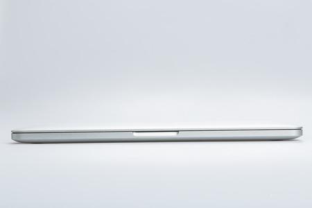 retina: Krynica-Zdroj, POLAND - AUGUST 17, 2016: Photo of a MacBook Pro. MacBook Pro Retina made by Apple Inc.