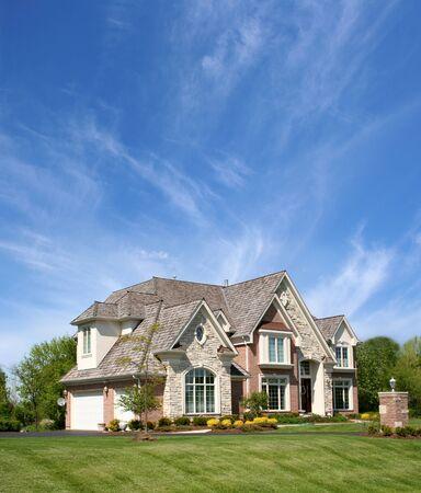 Mooi huis Stockfoto