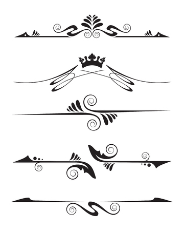 Decorative element Illustration