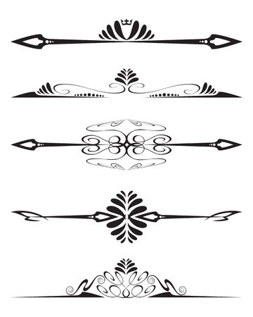 Decorative element Vectores