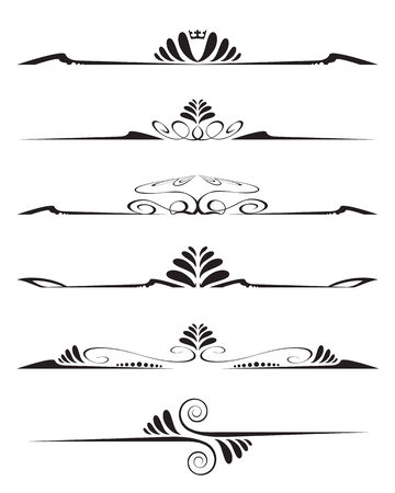 Decorative elements Ilustração