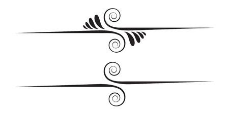 スワール: 装飾的な要素