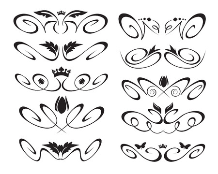 Decorative elements Çizim