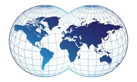 terra: World map