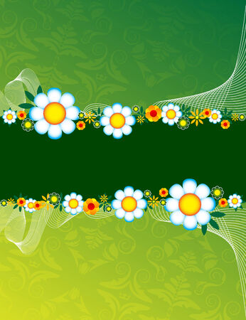 Floral background Stock Vector - 5755814