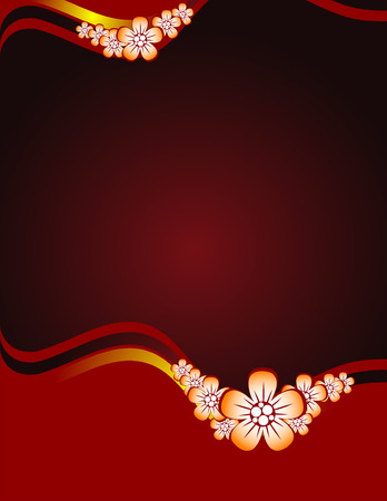 Floral background Stock Vector - 5755781