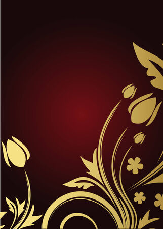 Floral background Stock Vector - 5755729