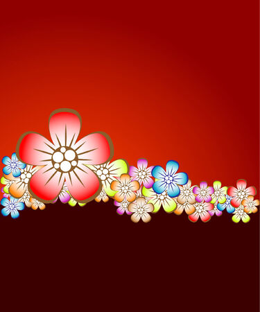 Floral background Stock Vector - 5755732
