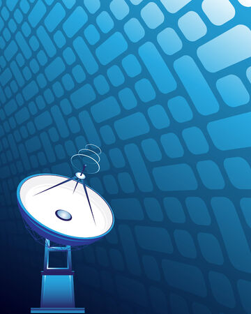 Satellite dish Illustration