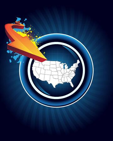 usa map: USA map