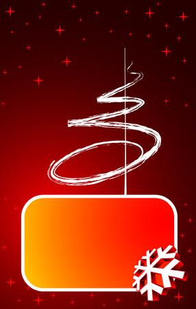 Winter background Stock Vector - 5811770
