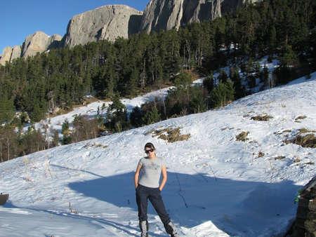 The main Caucasian ridge photo