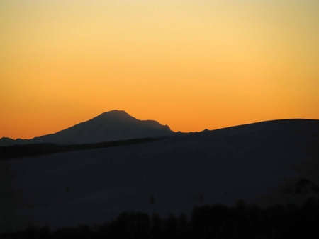 The main Caucasian ridge; rocks; a relief; a landscape  photo