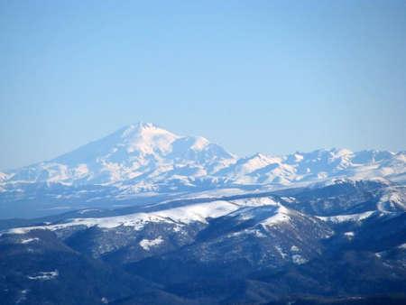 The main Caucasian ridge Stock Photo - 7254999