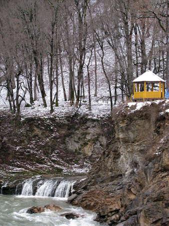 The river White; rocks; a relief; a landscape Stock Photo - 7292694