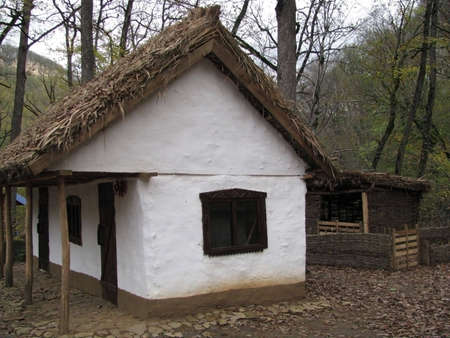 mud house: Hut; house; a mud hut; a museum