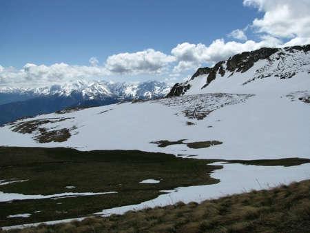 The main Caucasian ridge Stock Photo