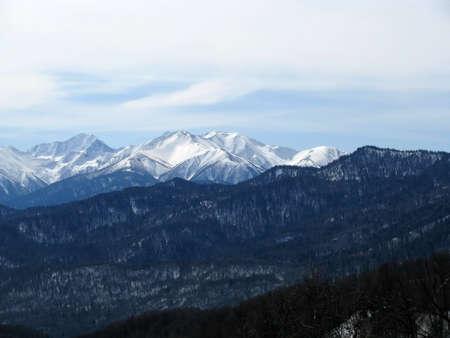 High mountains photo
