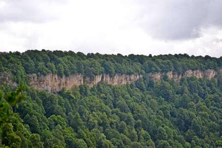 Beautiful mountain scenery of the Caucasus Stock Photo - 12451624