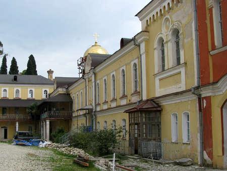 Pilgrimage to the monasteries of Abkhazia Stock Photo - 13156002