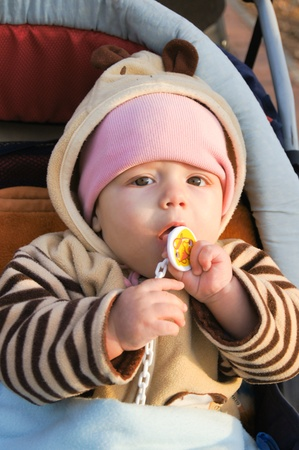 Funny little baby Stock Photo - 17353369