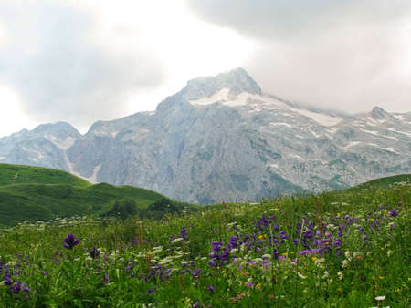 aiguille: The magnificent mountain scenery of the Caucasus Nature Reserve