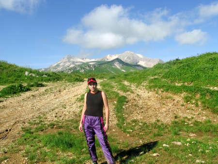 Tourism in the Caucasus Mountains Preserve photo