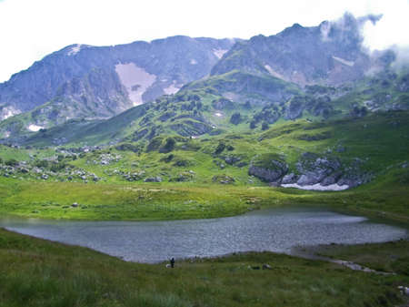 The mountains of the Caucasus Nature Reserve