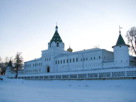 pilgrimage: Pilgrimage to the temples Russia Stock Photo
