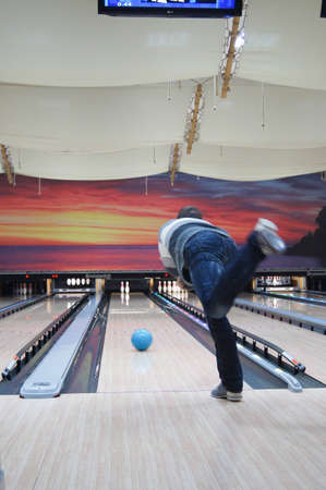 Friendly Tournament in Bowling Stock Photo - 13815730