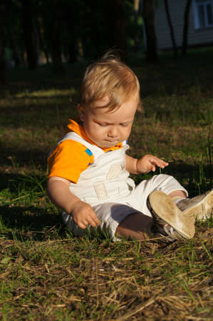 A charming little baby Stock Photo - 14621020