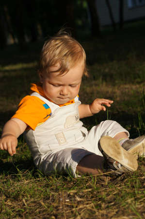A charming little baby Stock Photo - 14370404