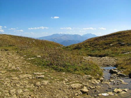 uplands: Mountains of Northwest caucasus