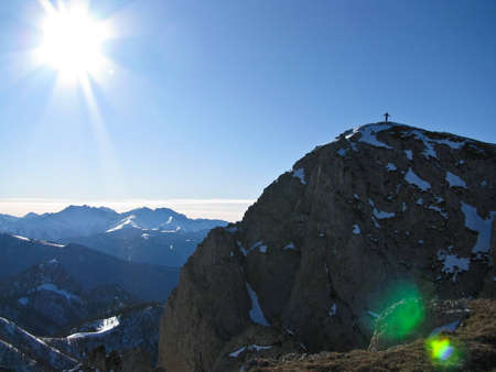 Mountaineering on Northwest caucasus photo