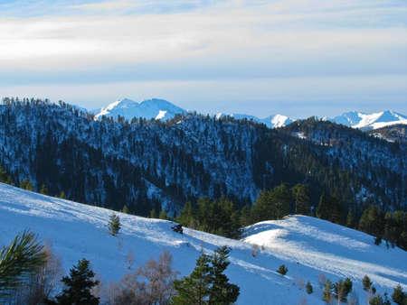 Mountains of northwest caucasus photo