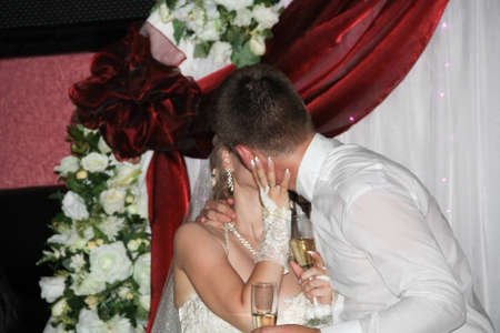spouses: Passionate kiss of spouses