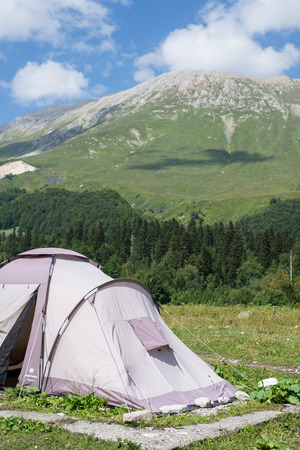 reserve: Majestic mountain landscapes of the Caucasian reserve
