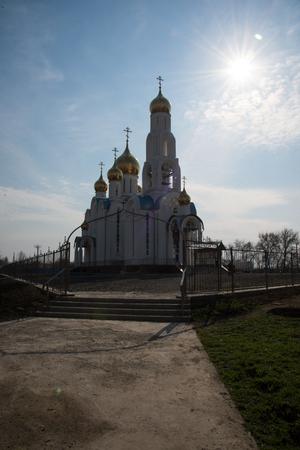healer: The great temple of the Virgin Healer in Russia
