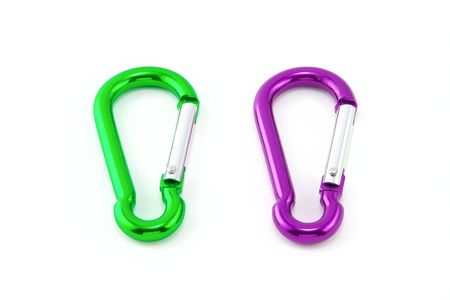 Safety locks isolated on white background Stock Photo - 3730861