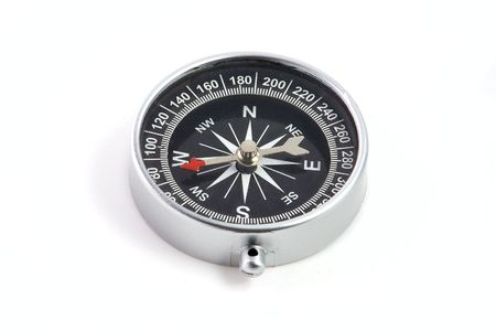 Compass isolated on white background Stock Photo - 3730868