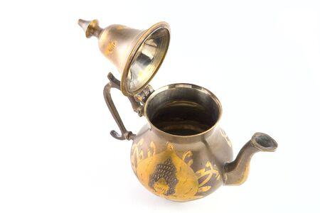 Teapot isolated on white background Stock Photo - 3737808