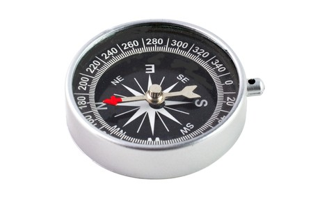 Compass isolated on white background Stock Photo - 4272219