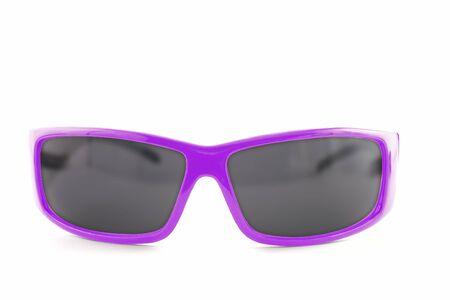 Sunglasses isolated on the white background photo