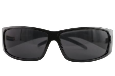 Sunglasses on the white background Imagens