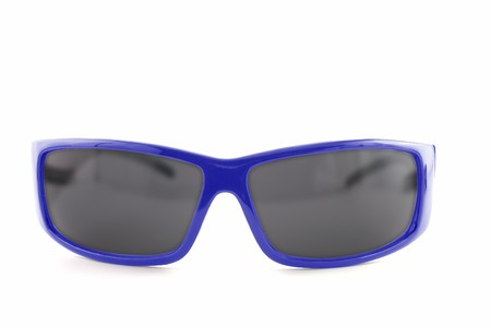 Sunglasses isolated on the white background photo