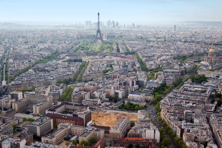 Paris aerial view from Montparnasse tower Stock Photo - 4913071