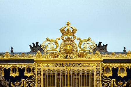 Golden Gates of Versailles Golden Gate at Palace