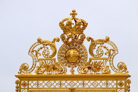 Golden Gate at Palace Versaille, Paris