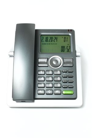 Phone isolated on white background Stock Photo - 6523508