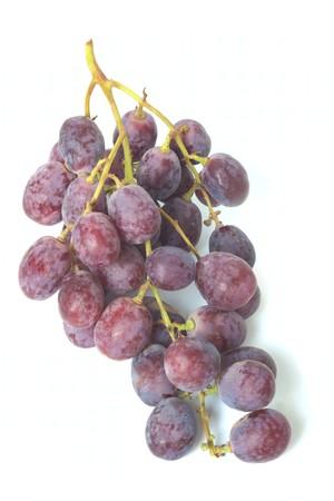 sauternes: Grape isolated on white background Stock Photo